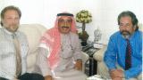 Volker Kranich and His Highness Sheikh Maktoum Hasher Al Maktoum