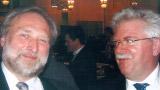Volker Kranich and former minister of economic affairs Martin Zeil